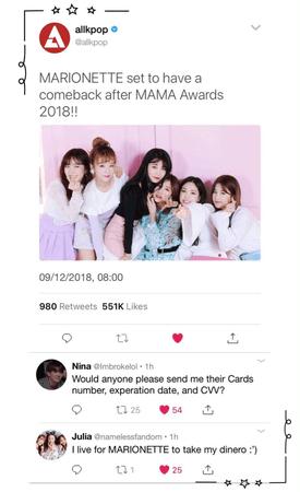 {MARIONETTE} All Kpop Update