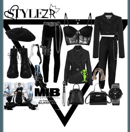 MIB (Men In Black) Movie Style!!