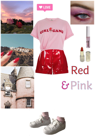 Pink 💟 and Red ❤