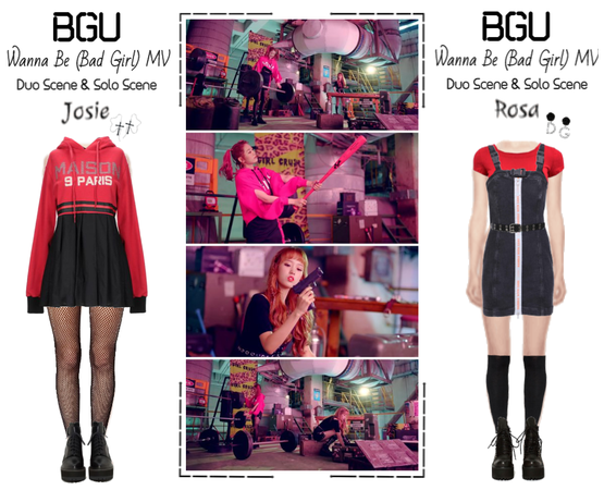 BGU 'Wanna Be (Bad Girl)' MV