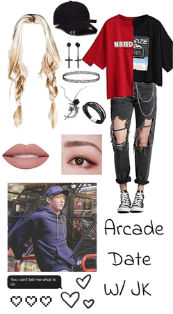 Arcade Date With Jungkook
