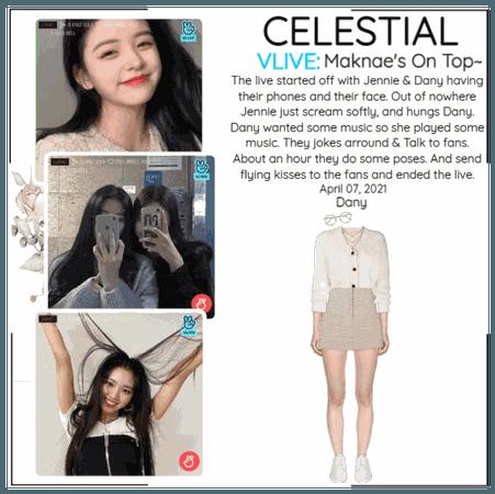 세레스티알 (Celestial) | Vlive App - 'Maknae's On Top~'