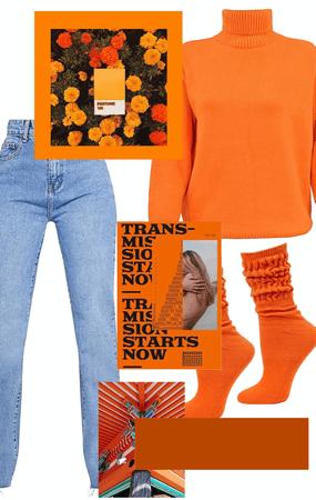 Orange in the Rain