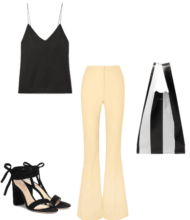 Inverted Triangle Body Shape Outfit