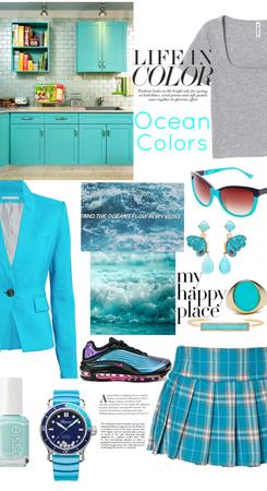 Life in Ocean Colors