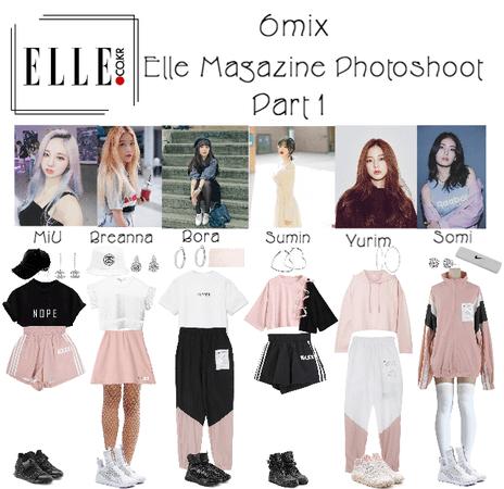 《6mix》Elle Magazine Photoshoot (Part 1)