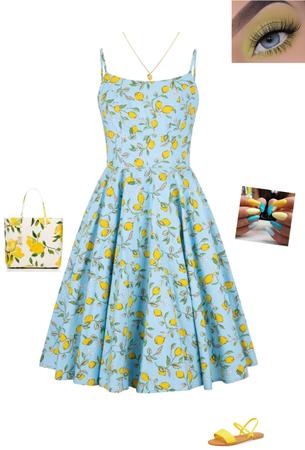 Lemony Blue