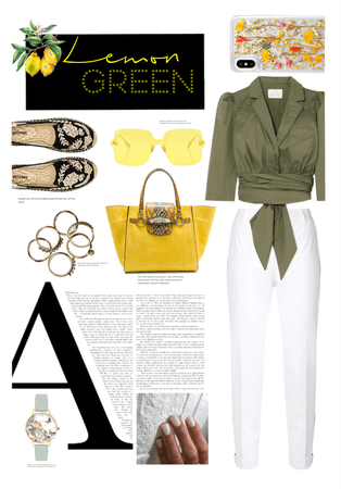 Lemon Green Theme