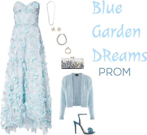Blue Garden Dreams