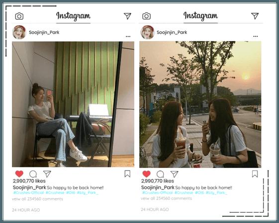 Crushes Soojin Instagram Update