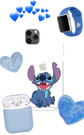 stitch case 💙✨