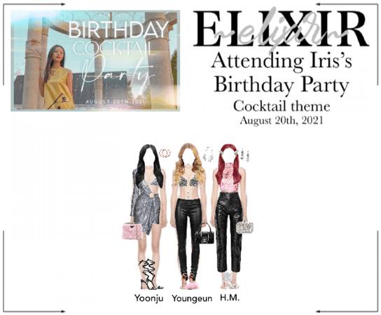 ELIXIR (엘릭서) | MCM Iris's Birthday Party