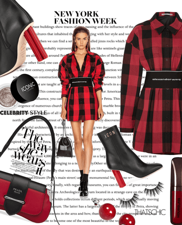 Iconic Plaid NYFW