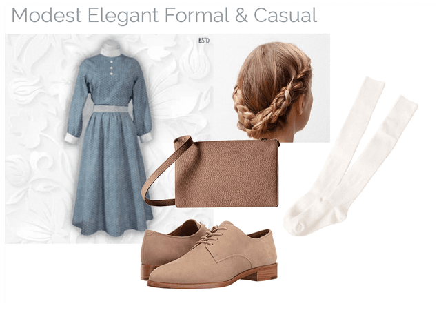 Modest Elegant Formal & Casual