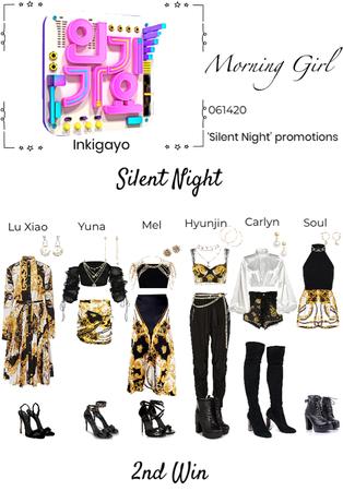 Inkigayo- Silent night 2nd win