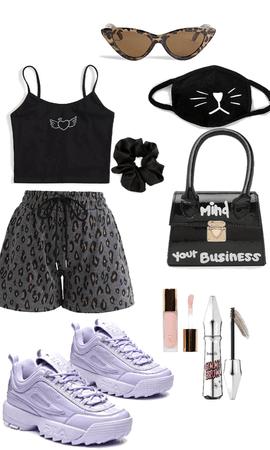 cute summer street outfit