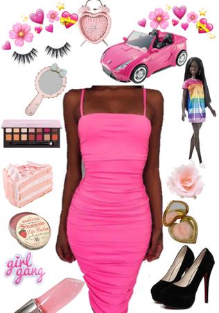 Look #61: Black barbiez in the city