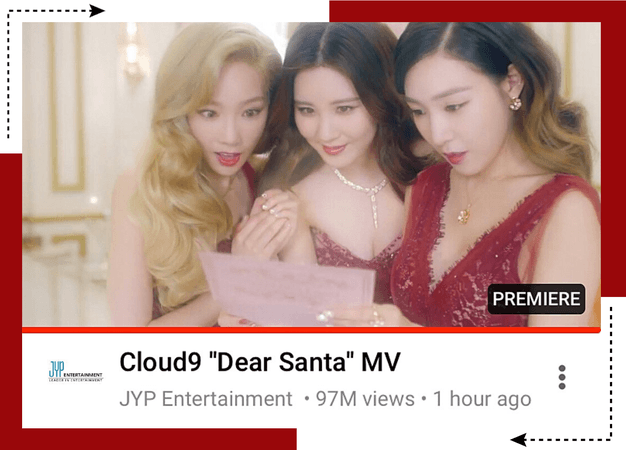 Cloud9 (구름아홉) | Dear Santa MV | 20201218
