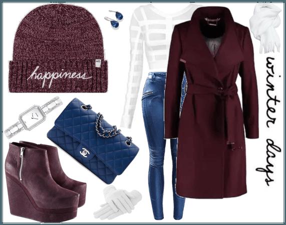 happy winter hat