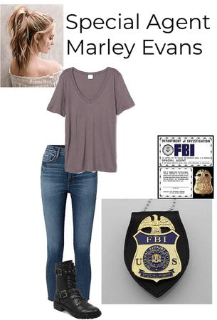 FBI Agent Marley Evans
