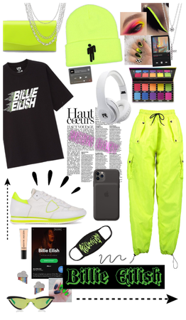 Billie Eilish Neon Inspo