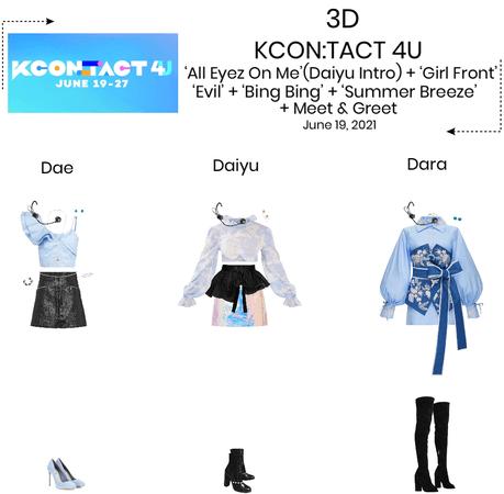3D//KCON:TACT 4U
