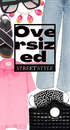 Oversized street style