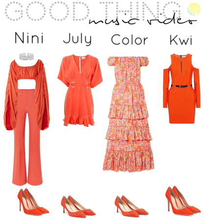 Good Thing|Music Video outfits|[4est]•