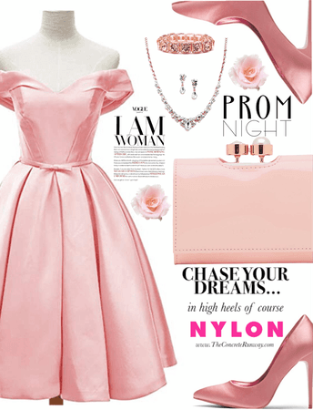Princess Pink in Prom