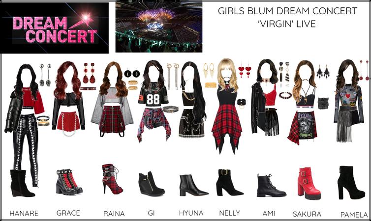 GIRLS BLUM DREAM CONCERT 'VIRGIN' LIVE