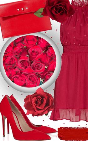 red romance ❤️
