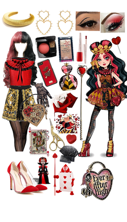 lizzie hearts; daughter of the queen of hearts