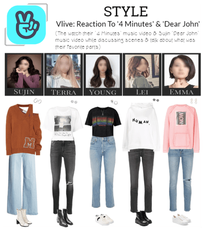 STYLE Vlive: Reaction To '4 Minutes' & 'Dear John'