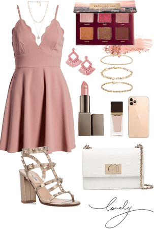 feminine outfit