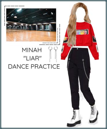 """Minah - """"LIAR"""" Dance Practice"""