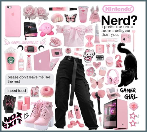 Geeky Gamer Girl