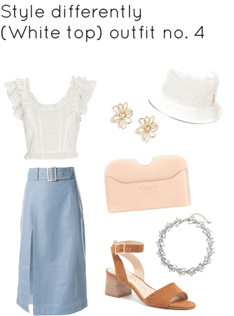 (white top) outfit no.4