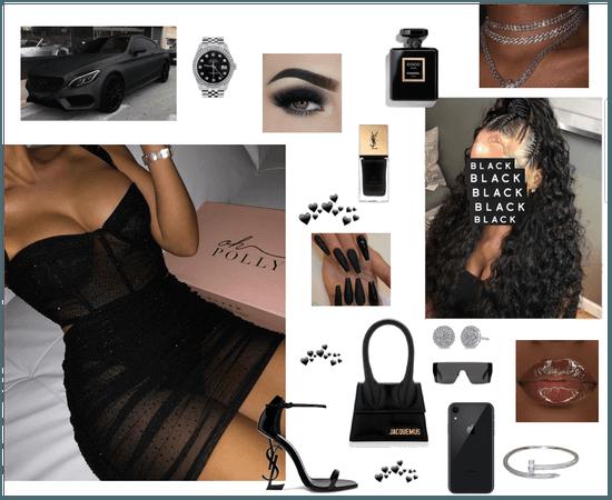 BADDIE IN BLACK