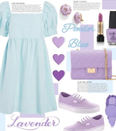 Powder Blue & Lavender 2021