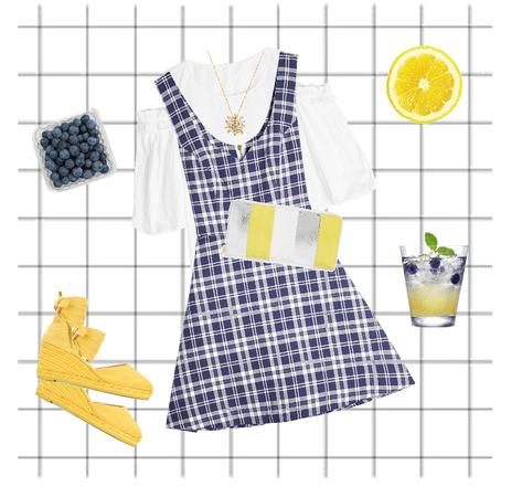 Blueberries and Lemonade