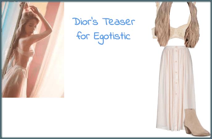 Dior's Teaser for Egotistic