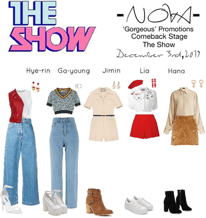 -NOVA- 'Gorgeous' The Show Stage