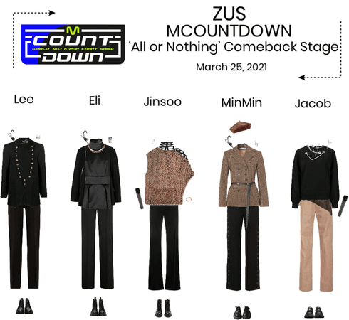 Zus//'All or Nothing' MCOUNTDOWN Comeback Stage