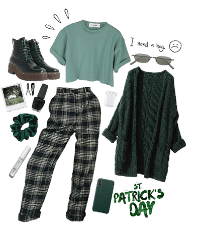 Green look🍀