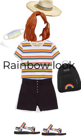 Rainbow look