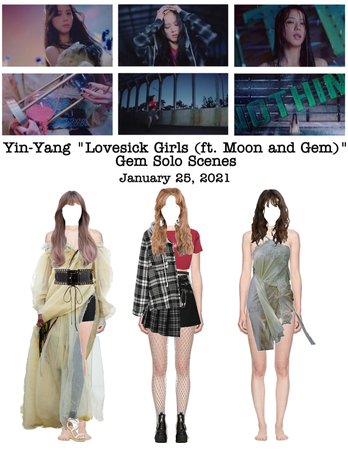 "Yin-Yang ""Lovesick Girls (ft. Moon and Gem)"" M/V Gem Solo Scenes"
