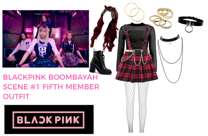 BLACKPINK Boombayah Fifth Memer Outfit Scene #1