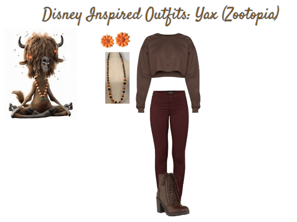 Disney Inspired Outfits: Yax
