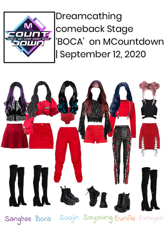 Dreamcatching Comeback Stage 'BOCA' on M Countdown | September 12, 2020