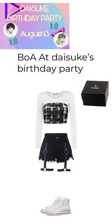 BoA at daisuke's Birthday